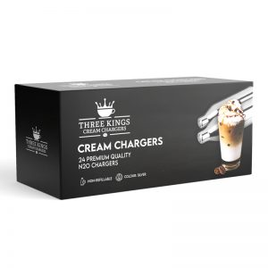 48 x Three Kings N2O Cream Chargers