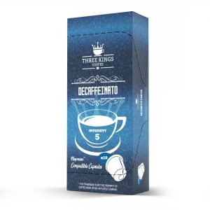 Three Kings Decaffeinato Nespresso Compatible Capsules