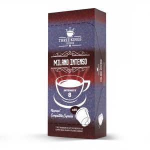 Three Kings Milano Intenso Nespresso Compatible Capsules