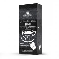 Three Kings Roma Nespresso Compatible Capsules