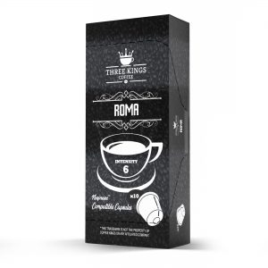 Three Kings Roma Nespresso Compatible Capsules